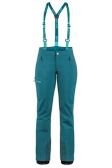 Women's Pro Tour Snow Pants, Deep Teal, medium