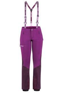 Women's Pro Tour Snow Pants, Grape/Dark Purple, medium