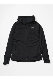 Women's Dawn Hoody, Black, medium