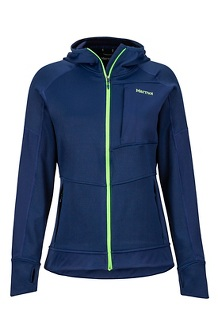 Women's Dawn Hoody, Arctic Navy, medium