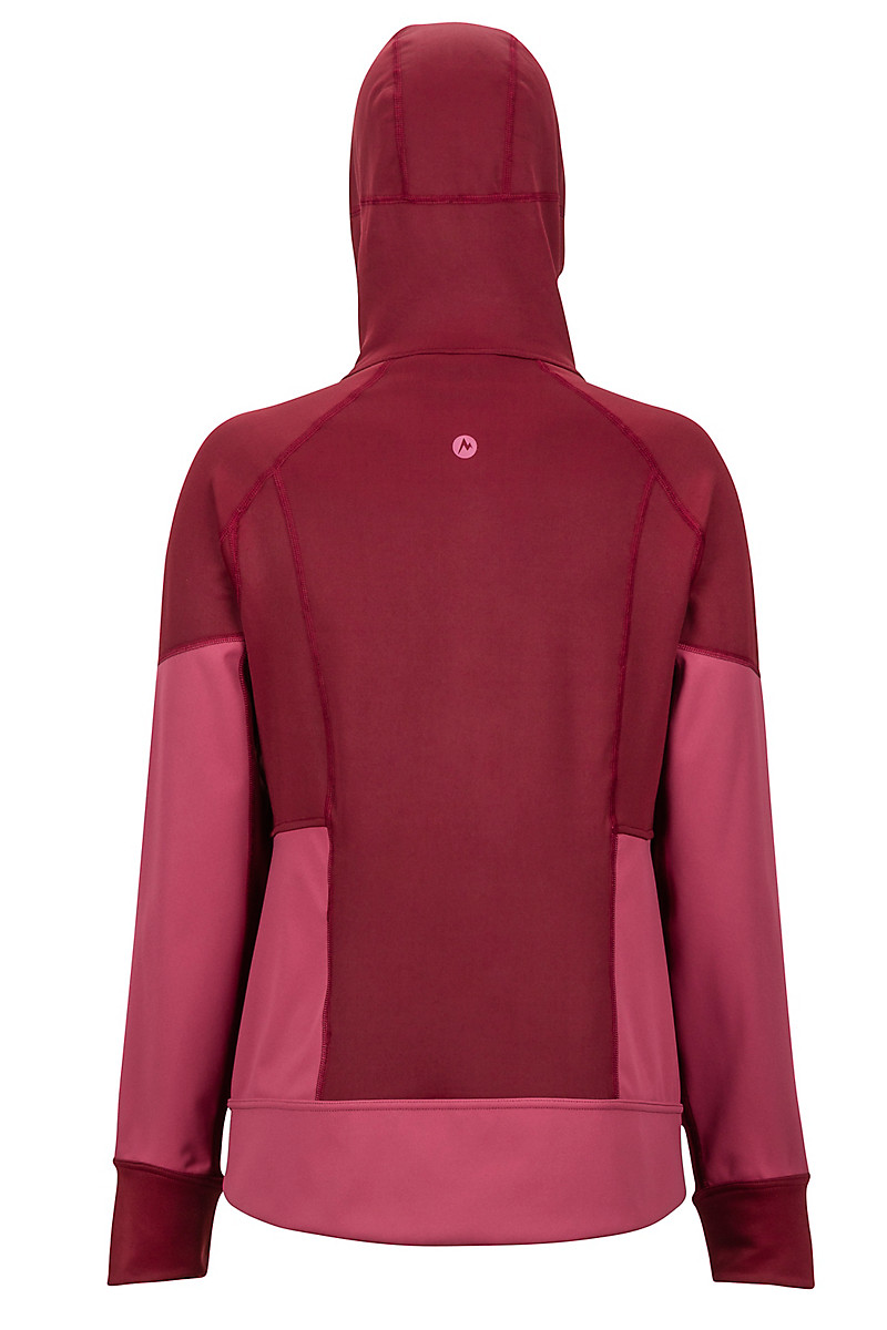 Damen Homestead Pullover dry rose claret XS
