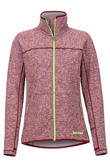Women's Mescalito 2.0 Fleece Jacket, Claret, medium