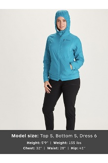 Women's Alpha 60 Jacket, Claret, medium