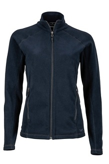 Women's Rocklin Full Zip Jacket, Black, medium