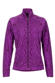 Women's Rocklin Full Zip Jacket, Grape/Dark Purple, medium