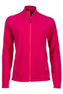 Wm's Rocklin Full Zip Jacket, Sangria, medium