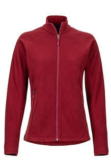 Women's Rocklin Full-Zip Jacket, Claret, medium