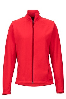 Women's Rocklin Full Zip Jacket, Scarlet Red, medium