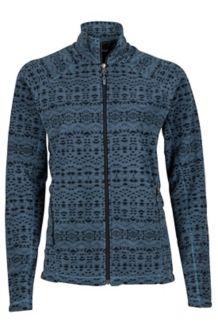 Wm's Rocklin Full Zip Jacket, Steel Onyx Sunfall, medium