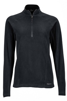 Women's Rocklin 1/2-Zip, Black, medium