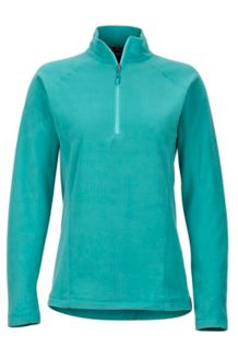 Wm's Rocklin 1/2 Zip, Patina Green, medium
