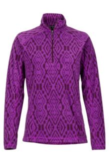 Women's Rocklin 1/2 Zip, Grape/Dark Purple, medium