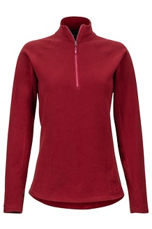 Women's Rocklin 1/2-Zip, Claret, medium