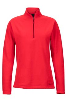 Women's Rocklin 1/2 Zip, Scarlet Red, medium