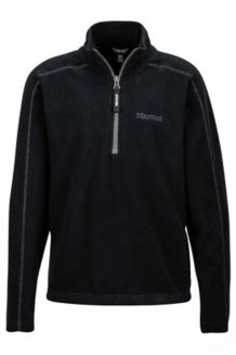 Girl's Rocklin 1/2 Zip, Black, medium