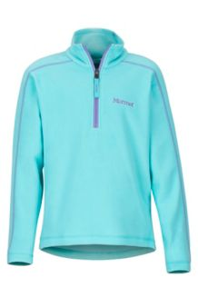 Girls' Rocklin 1/2 Zip, Skyrise, medium