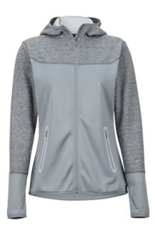 Wm's Sirona Hoody, Grey Storm/Bright Steel, medium