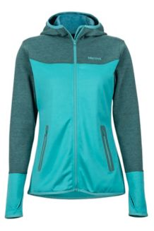 Wm's Sirona Hoody, Patina Green/Mallard Green, medium
