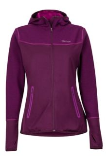 Wm's Sirona Hoody, Dark Purple/Grape, medium