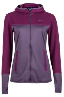 Wm's Sirona Hoody, Nightshade/Deep Plum, medium