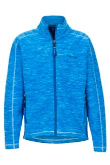 Girl's Lassen Fleece, Iceberg, medium