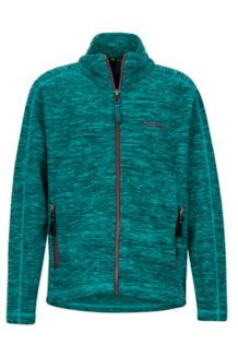 Girl's Lassen Fleece, Patina Green, medium