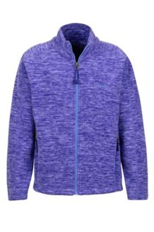 Girl's Lassen Fleece, Electric Purple, medium