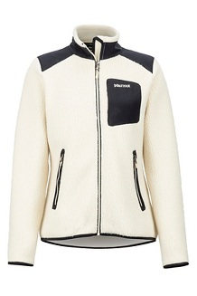 Women's Wiley Jacket, Cream/Black, medium