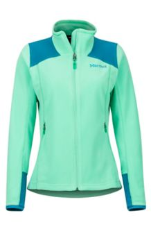 Women's Flashpoint Jacket, Double Mint/Late Night, medium