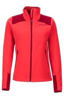 Women's Flashpoint Jacket, Scarlet Red/Brick, medium