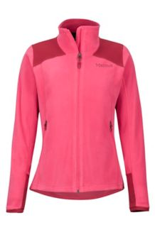 Women's Flashpoint Jacket, Disco Pink/Sienna Red, medium