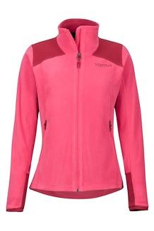 Women's Flashpoint Jacket, Disco Pink/Sienna Red, medium