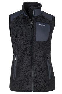 Women's Wiley Vest, Black, medium