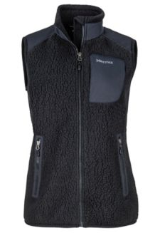 Wm's Wiley Vest, Black, medium