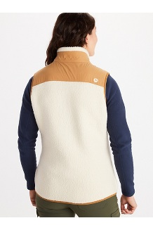 Women's Wiley Vest, Cream/Scotch, medium