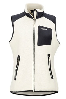 Women's Wiley Vest, Cream/Black, medium