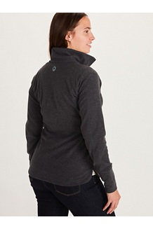 Women's Pisgah Fleece Jacket, Black, medium