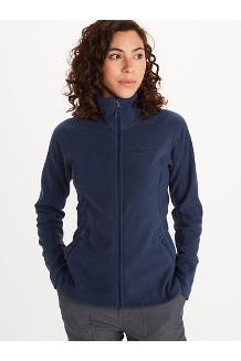 Women's Pisgah Fleece Jacket, Arctic Navy, medium