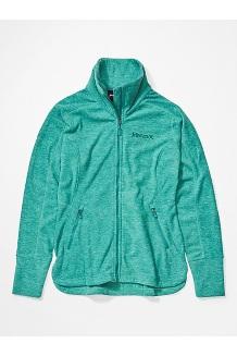 Women's Pisgah Fleece Jacket, Deep Jungle, medium