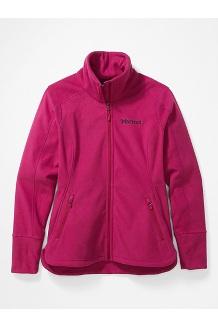 Women's Pisgah Fleece Jacket, Wild Rose, medium