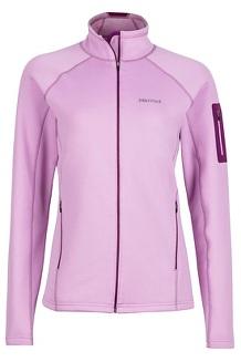 Wm's Stretch Fleece Jacket, Hydrangea, medium