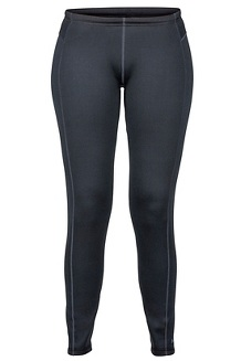 Women's Stretch Fleece Pants, Black, medium