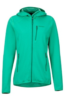 Women's Preon Hoody, Turf Green, medium