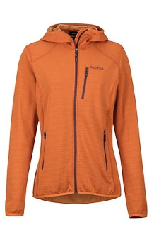 Women's Preon Hoody, Bonfire, medium