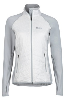 Wm's Variant Jacket, Bright Steel/White, medium
