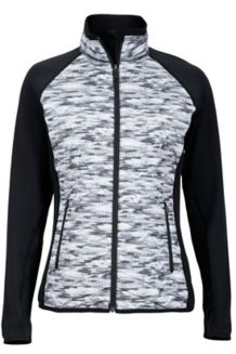 Wm's Caliente Jacket, Black Ice/Black, medium