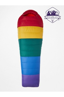 Rainbow Yolla Bolly 30° Sleeping Bag, Rainbow, medium