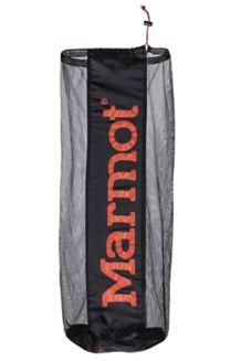 Nylon/Mesh Storage Sack, Black, medium