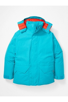 Men's Mammoth Parka, Enamel Blue, medium