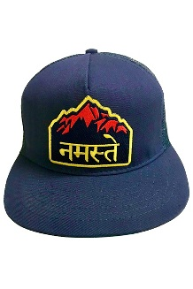 Give Back Trucker Hat, Himalayan Navy, medium